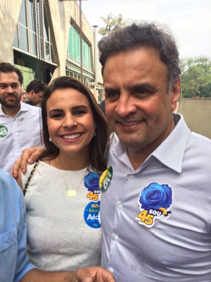 Mariana muito articulada foi indicada para vice presidencia do PSDB pelo Senador Aécio Neves
