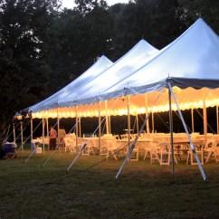 Folding Chair Feet Swivel Dance High Peak Pole Tent Rental | Oconee Events Wedding, Party & Corporate Athens, Ga