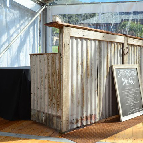 rustic farm table and chairs stainless steel for hospitals rental | oconee events
