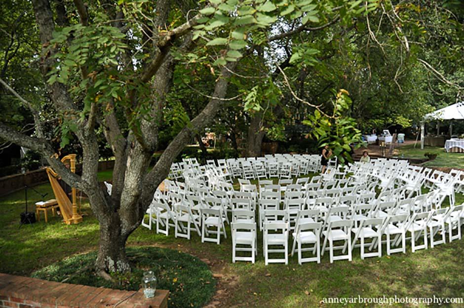 white folding chairs toddler adirondack chair athens atlanta lake oconee rental