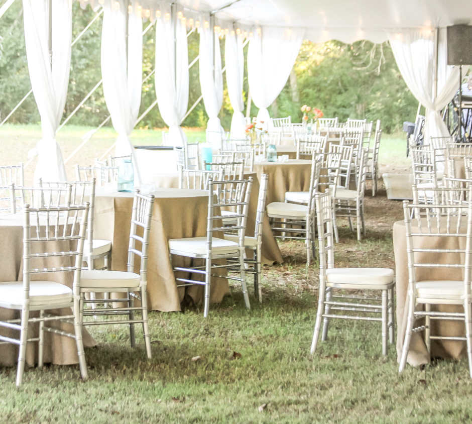 places to rent tables and chairs hoveround power sarasota fl oconee events wedding rentals party tents stylish furniture for silver chiavari
