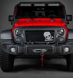 rugged ridge spartan grille insert skull 07 16 jeep wrangler jk x12034 23 [ 1500 x 1000 Pixel ]
