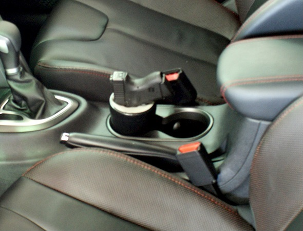 Gun Cup Holster A Holster for Your Cup Holder