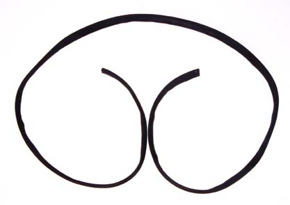 Windshield Frame Seal; 41-49 Ford/Willys-12301.01