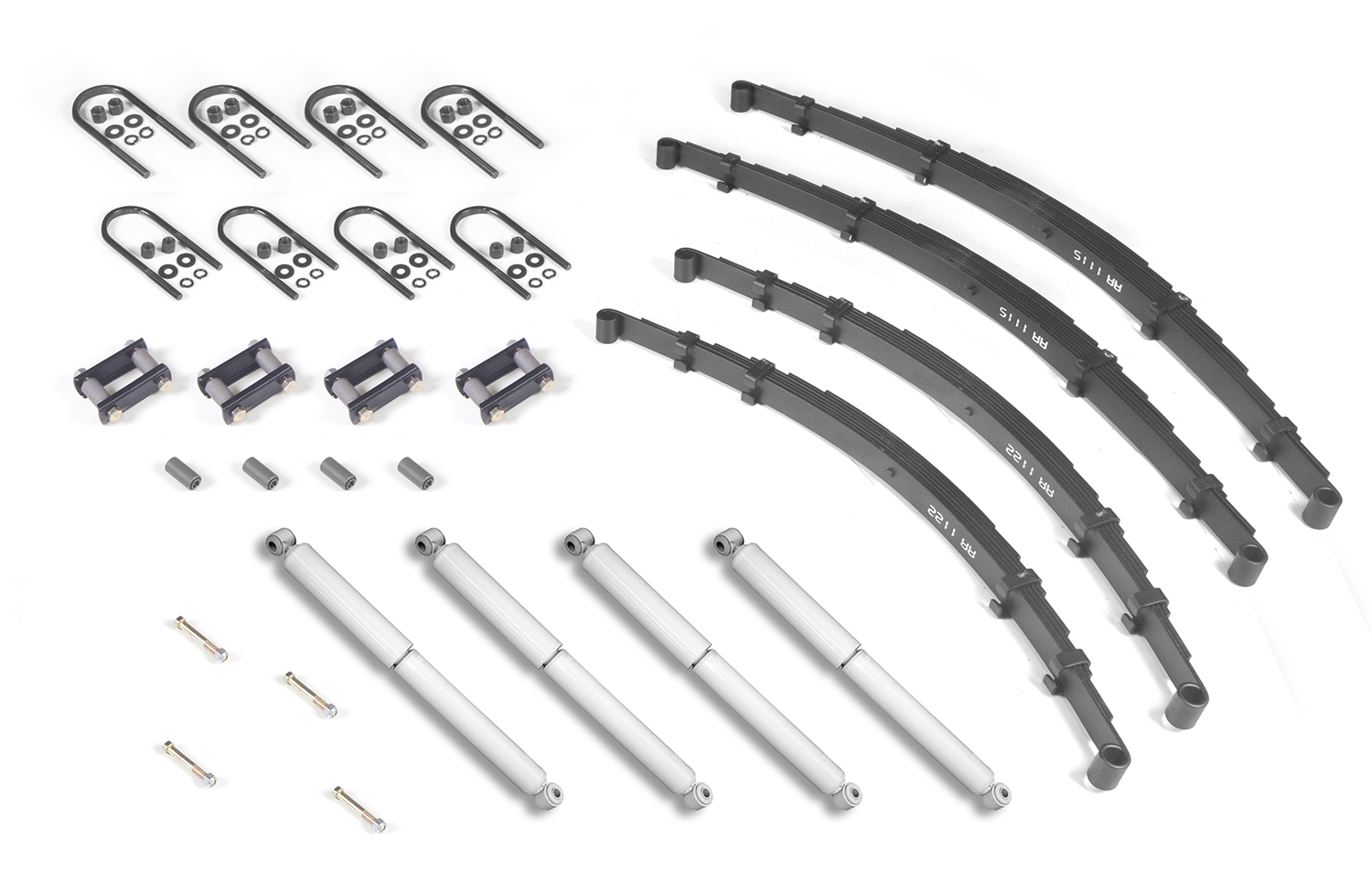 Suspension Leaf Spring Rear Heavy Duty 84 01 Jeep