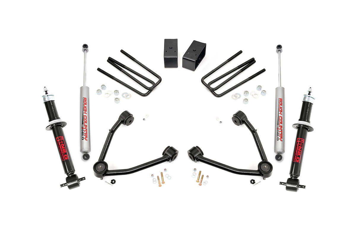 6-inch Suspension Lift Kit Fits: Chevrolet: 95-04 S10