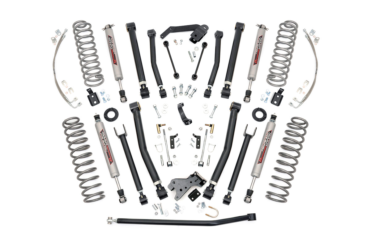 2 5 Inch Suspension Lift System Fits Jeep 07 16 Wrangler