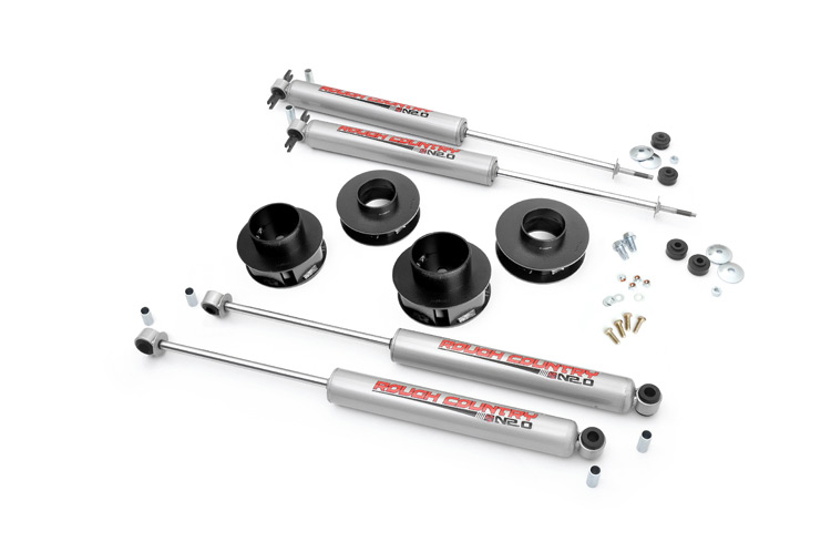 4.5-inch X-Series Long Arm Suspension Lift System Fits