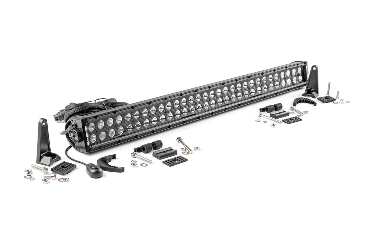 30 Inch Black Series Dual Row Cree Led Light Bar Fits