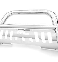 stainless steel bull bar br fits chevrolet 99 06 silverado 1500 [ 1200 x 800 Pixel ]