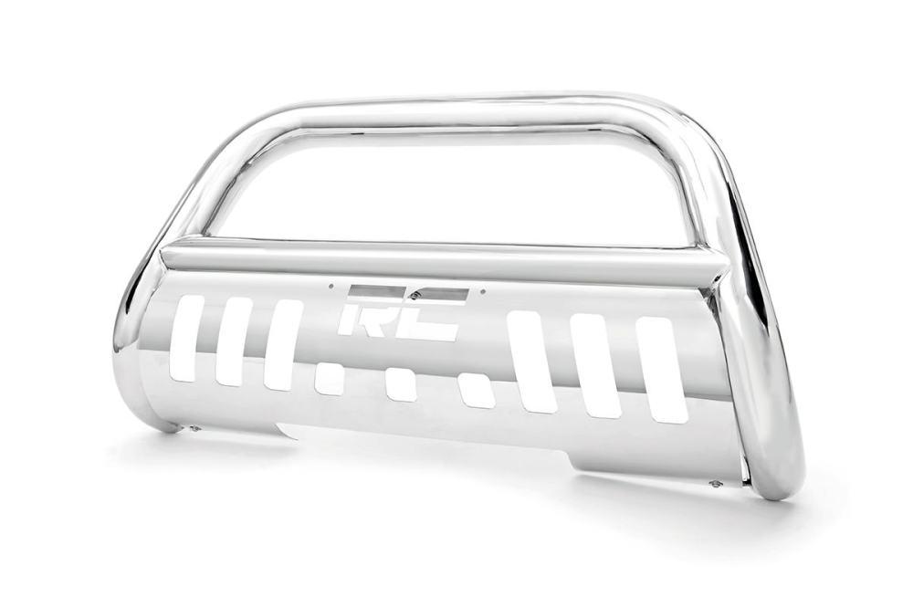 medium resolution of stainless steel bull bar br fits chevrolet 99 06 silverado 1500