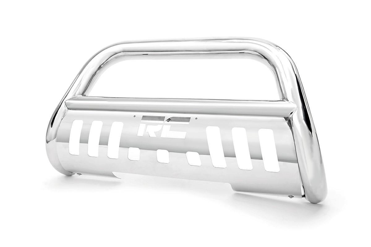 hight resolution of stainless steel bull bar br fits chevrolet 99 06 silverado 1500