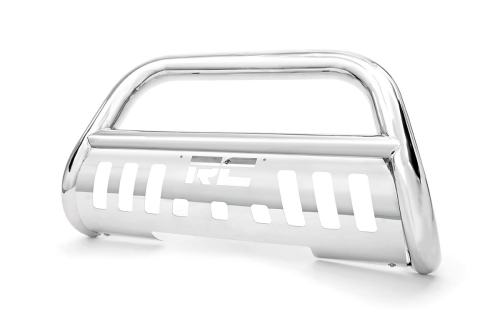 small resolution of stainless steel bull bar br fits chevrolet 99 06 silverado 1500