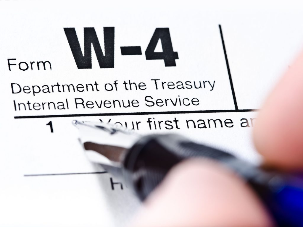 Treasury And Irs Unveil New Form W 4 For
