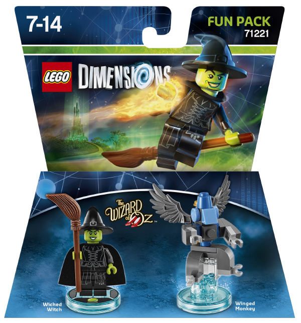 LEGO 71221 Fun Pack Wicked Witch