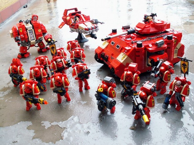 Lego Warhammer 40000 Space Marines