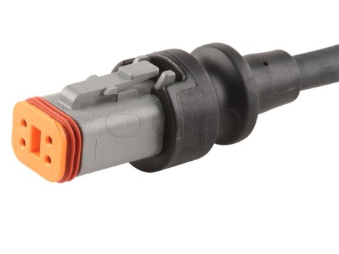 Deutsch DT06-4S IP67 Molded Cable, 3M, with tinned ends