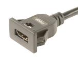 """HDMI """"Snap In"""" Panel Mount Extension Cables"""