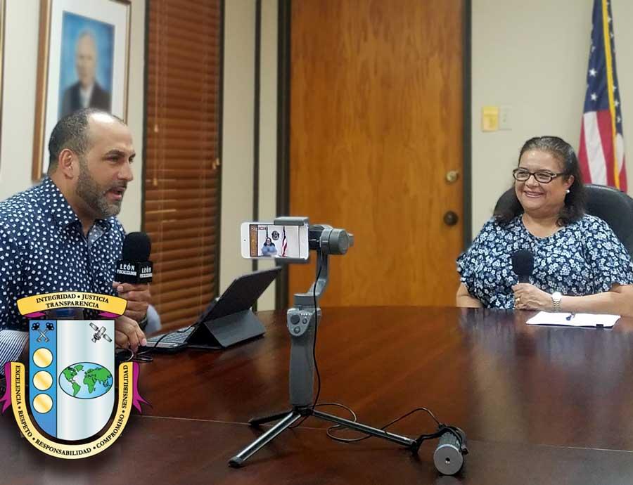 León Fiscalizador en entrevista exclusiva con la Contralora de Puerto Rico Yesmín Valdivieso