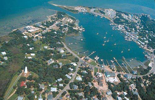Ocracoke - Aerial View