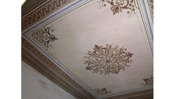 Dipinti Restauro soffitti decorati  Ocrarossa