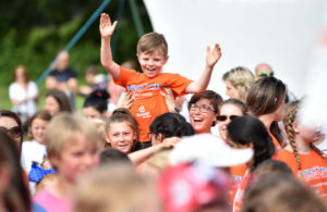 during the South West Youth Games at Simmons Park, Okehampton, Devon on 9 July. - PHOTO: Tom Sandberg/PPAUK