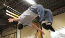 Freestyle gym ('parkour')