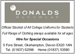 Donalds Menswear