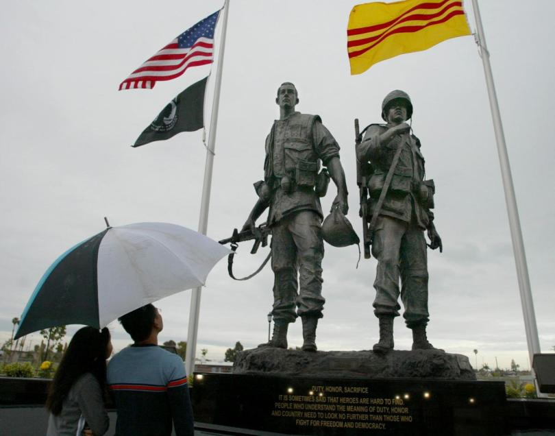 Heroes Monument to honor South Vietnamese officers