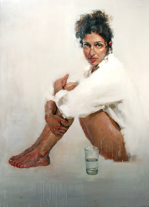 Girl-with-a-water-glass