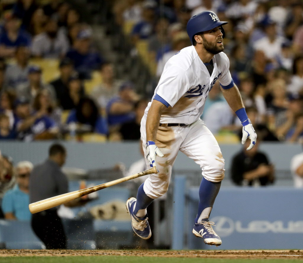 Dodgers Notes Chris Taylor took a big swing last winter
