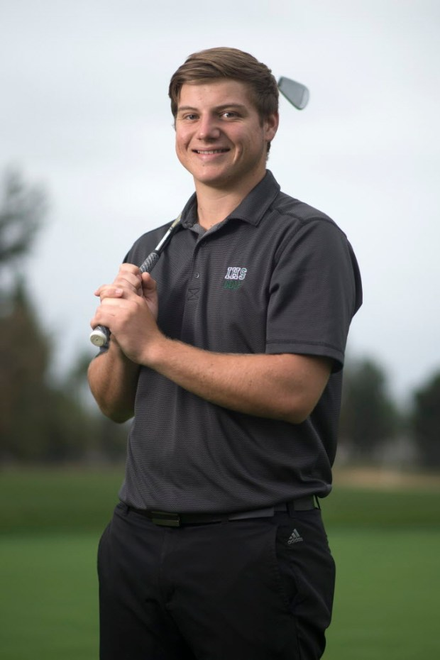Irvine's Chris Chomyn has been selected to the Register's All-County boys golf team. (Photo by Kyusung Gong/Orange County Register/SCNG)