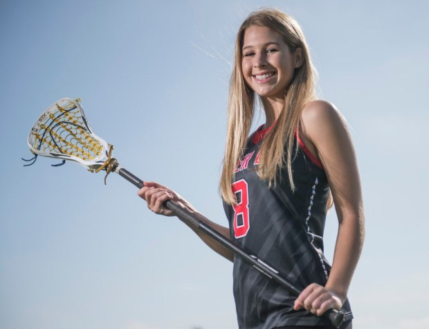 Mater Dei's Grace Houser is the Register's girls lacrosse player of the year. (Photo by Kyusung Gong/Orange County Register/SCNG)