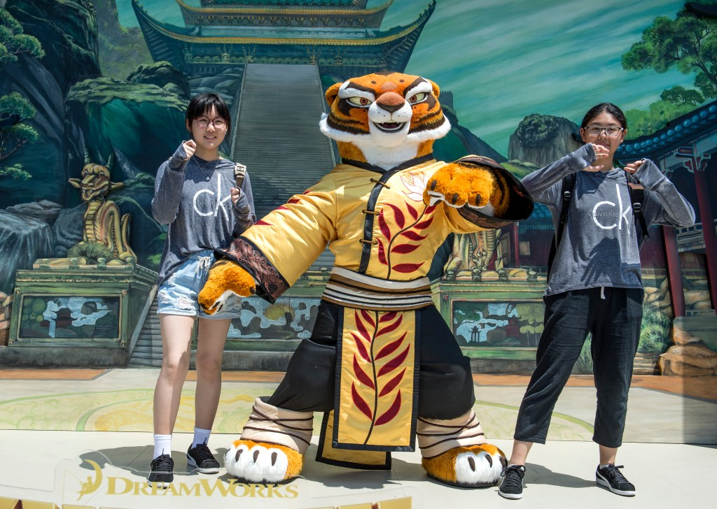 New DreamWorks characters take over Universal Studios