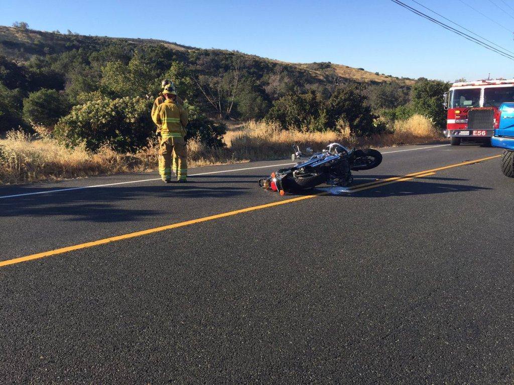 Motorcyclist dies in crash on Ortega Highway lanes