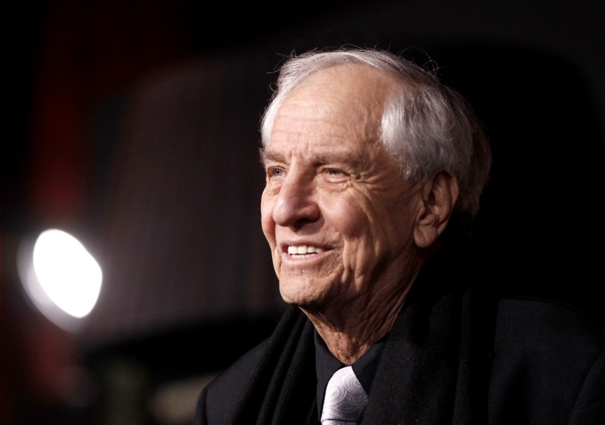 """Director Garry Marshall arrives at the premiere of """"New Year's Eve"""" in Los Angeles on Monday, Dec. 5, 2011. (AP Photo/Matt Sayles)"""
