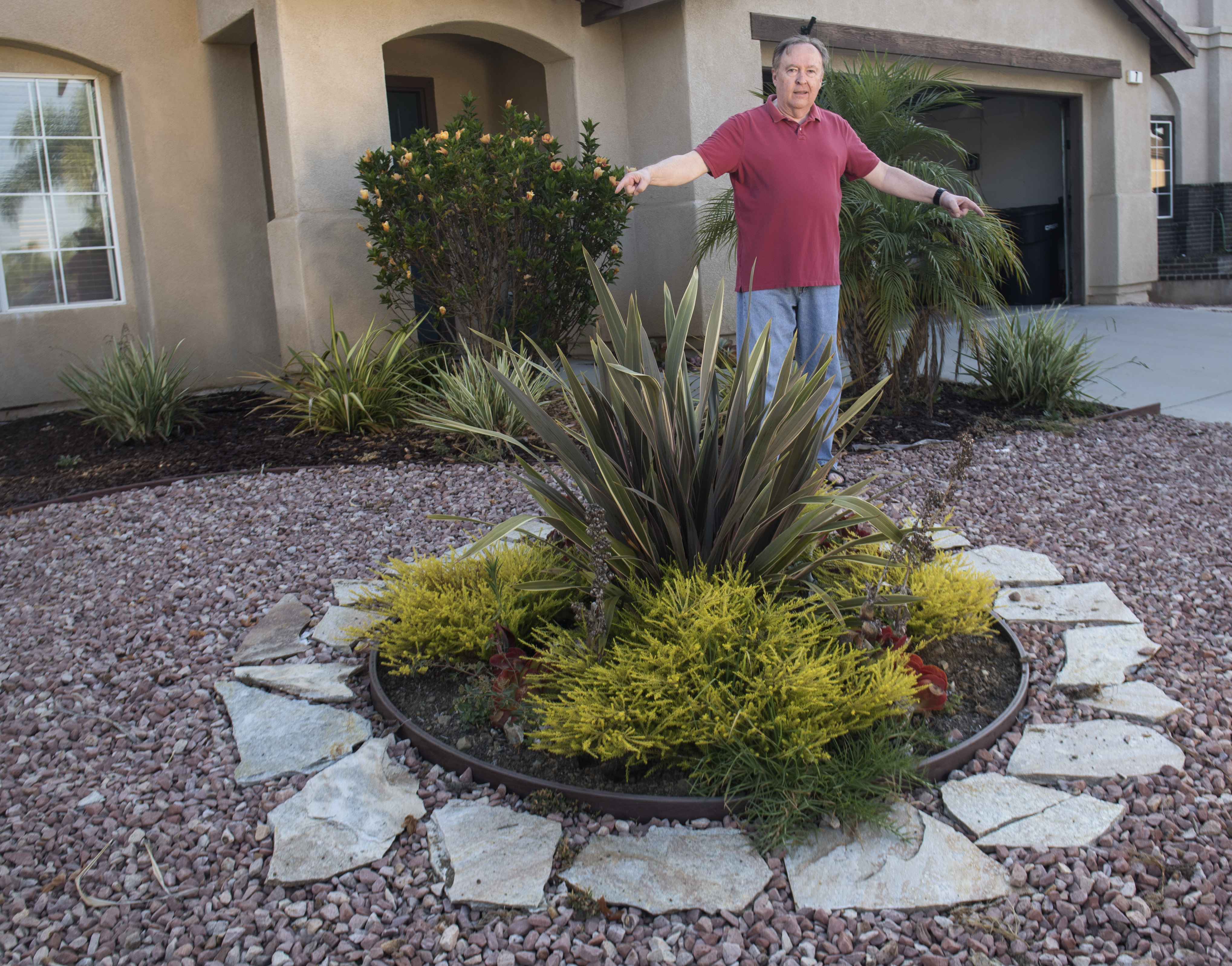 A Rancho Santa Margarita Resident Installed A Drought-Tolerant Lawn, And  Now He Could Face Hoa Fines – Orange County Register