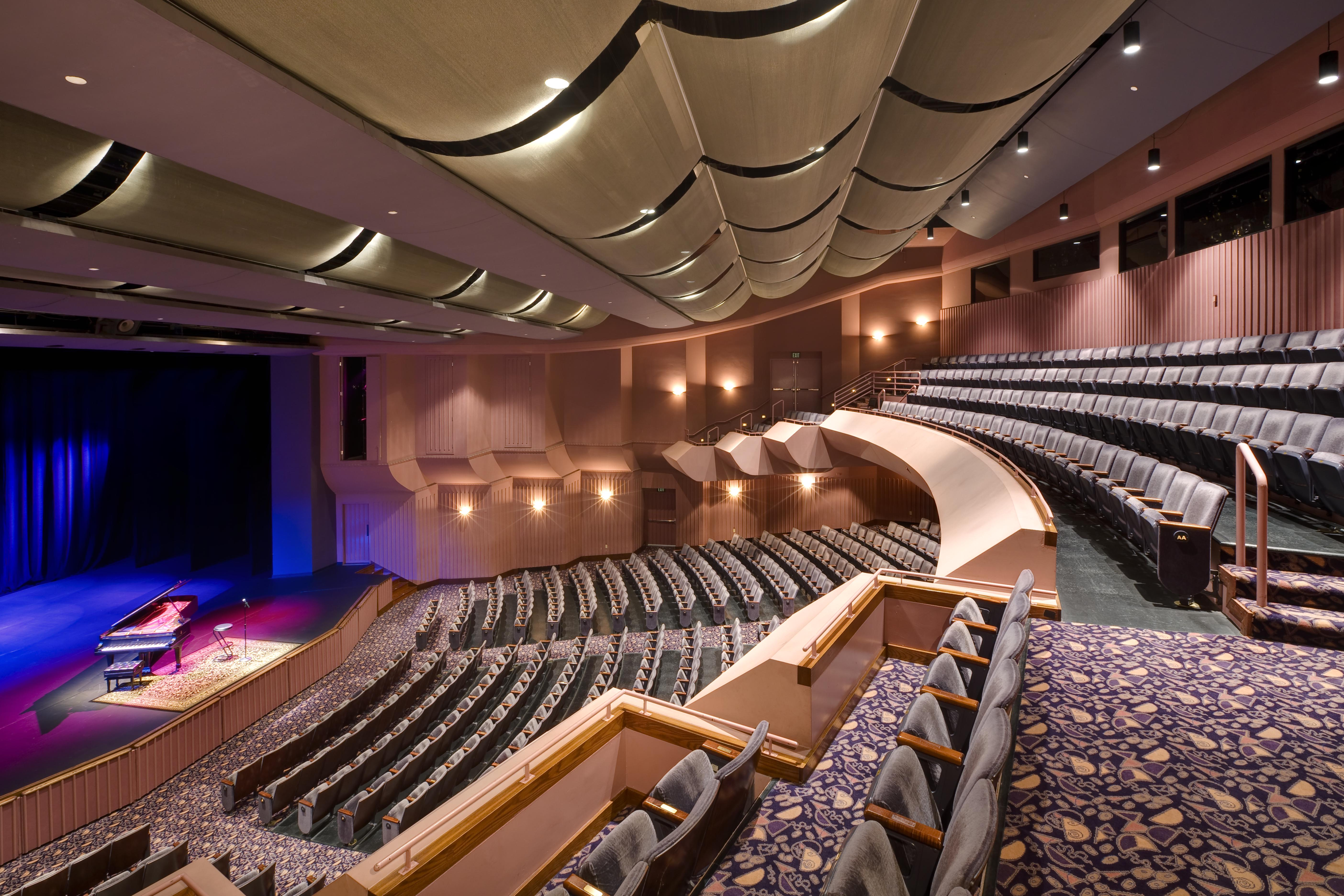 At seats the barclay fits nicely into  niche in orange county  not too big small it  only quality theater of its size   photo also chita rivera branford marsalis arturo sandoval coming to irvine rh ocregister