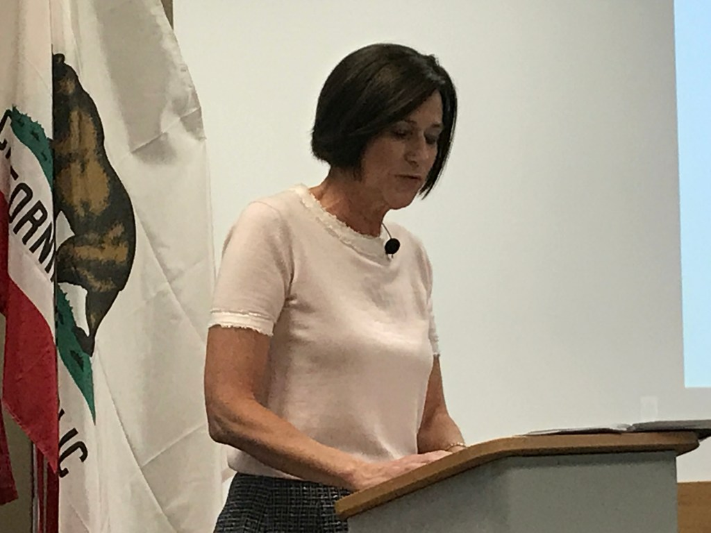 Rep Mimi Walters talks about selfdriving cars Charlottesville at economic meeting  Orange County Register