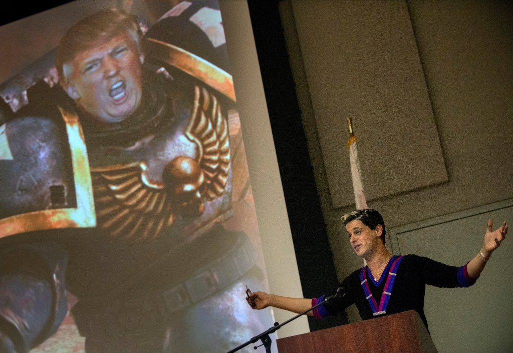 Milo Yiannopoulos to speak at Cal State Fullerton with many opponents trying to block the event  Orange County Register