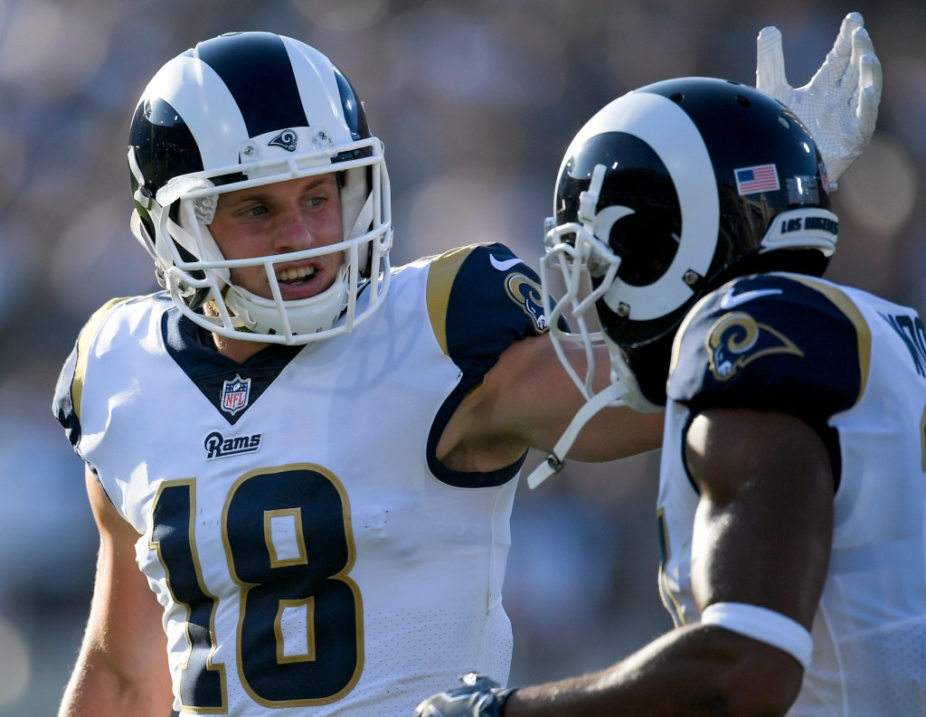 As Watkins watches Rams rookie Kupp impresses at wideout