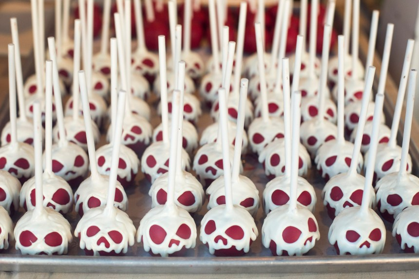 Skeleton pops available inside Disney California Adventure on Friday, September 15, 2017. (Photo by Drew A. Kelley, Contributing Photographer)