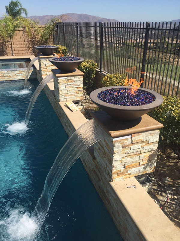outdoor fireplaces fire pits rise in