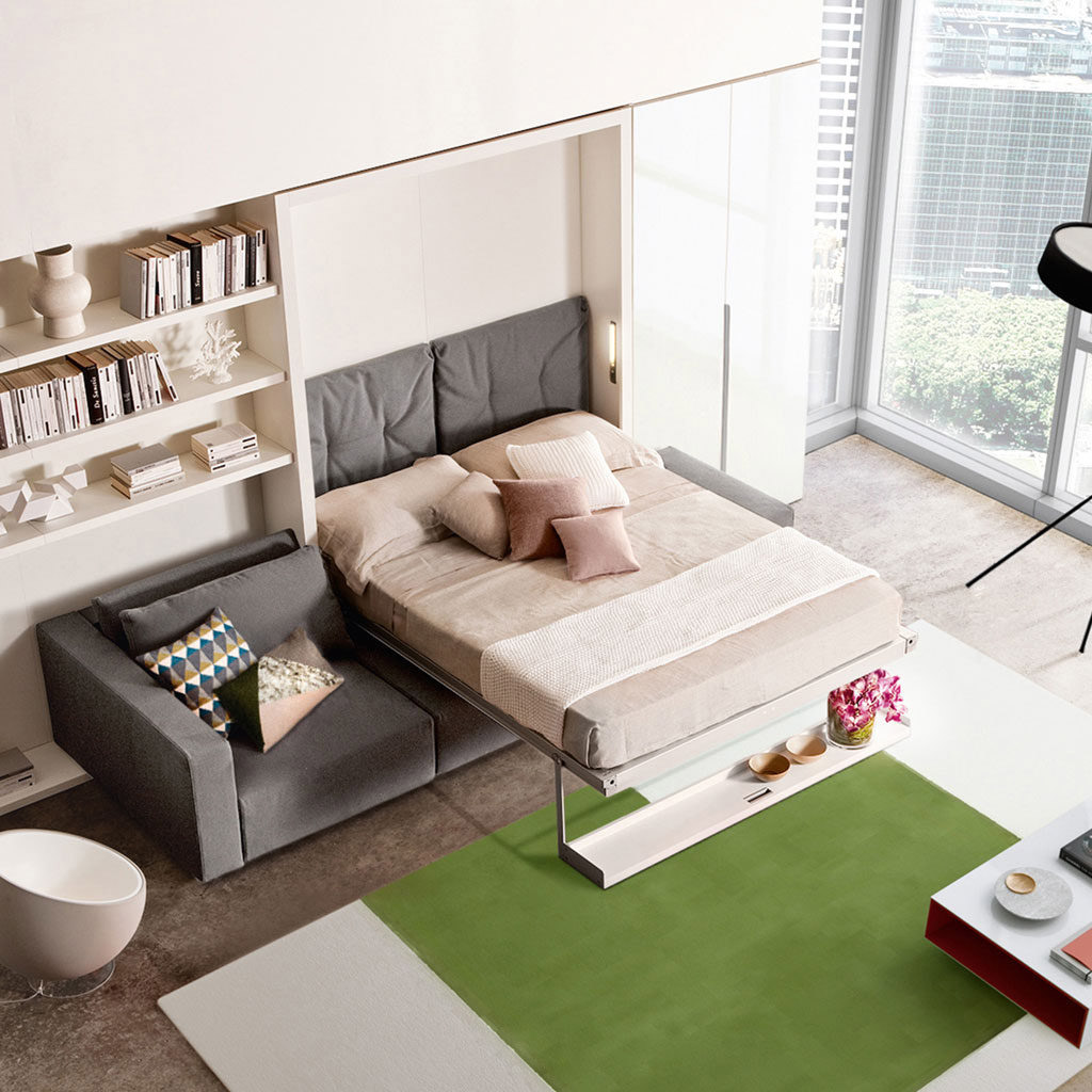 Have One Room that Serves Two Purposes Get a Wall Bed