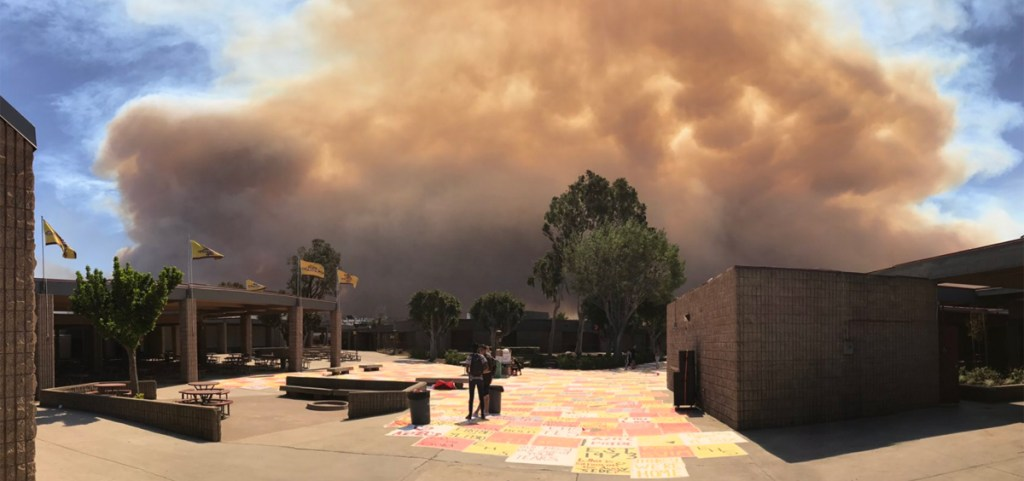 Games practices for area schools resume as Canyon Fire 2