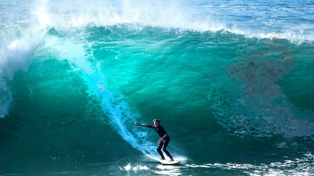 Another round of big surf arriving this week with 8foot