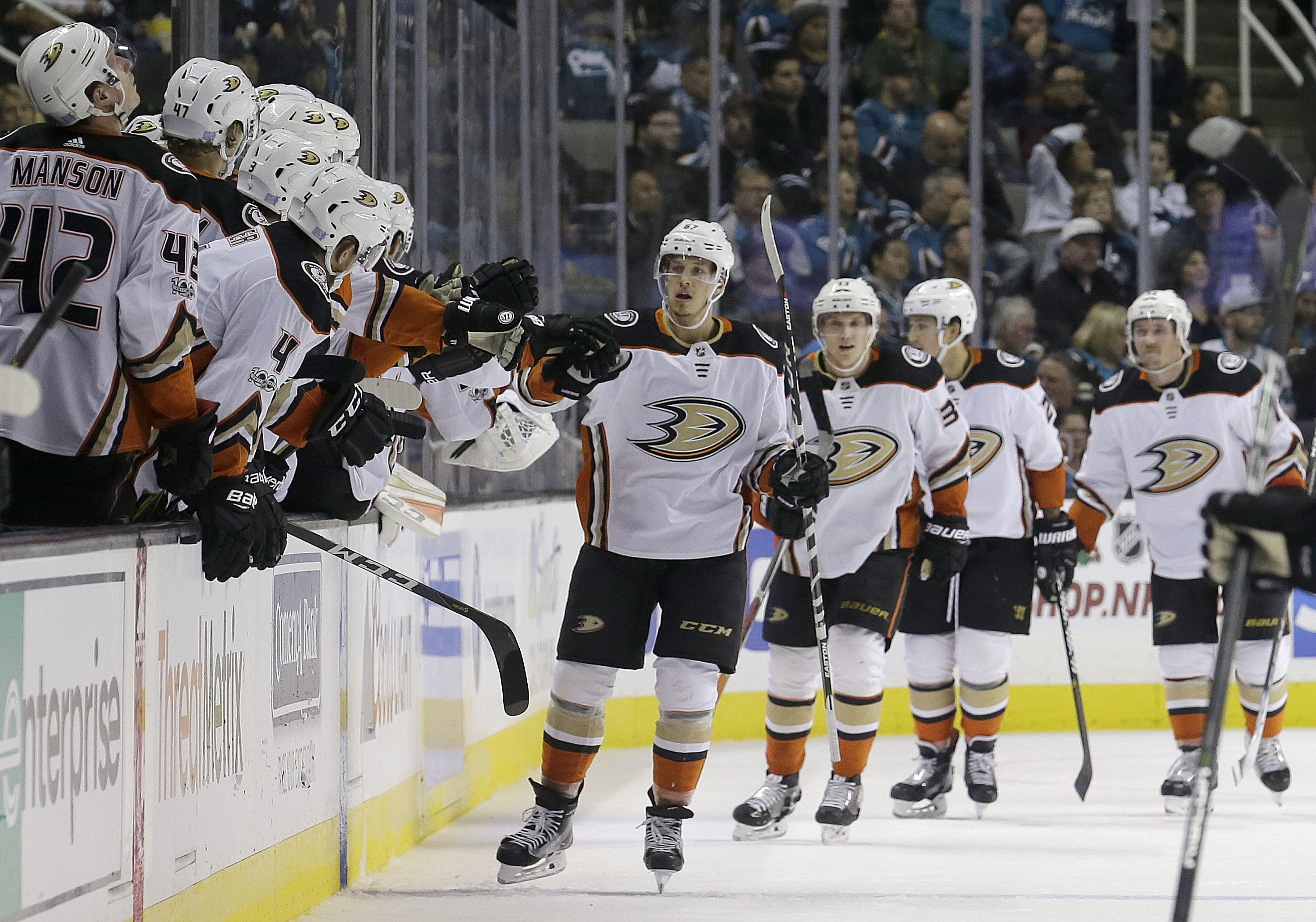 Anaheim — Winners Of Three Straight Games For The First Time This Season,  The Ducks Will Look To Extend That Wednesday Night When They Host The Vegas  Golden