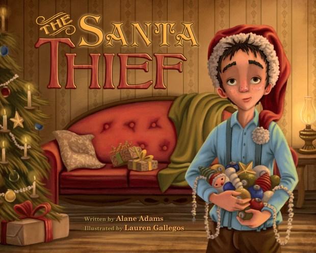 """The Santa Thief"" by Alane Adams"