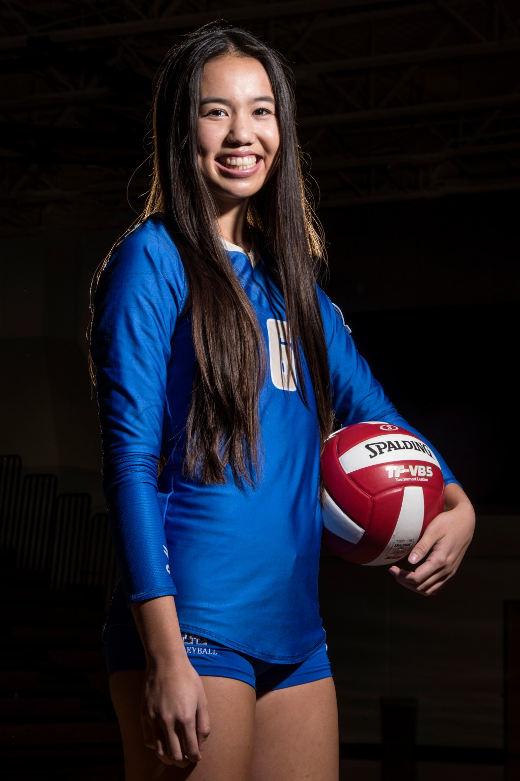 Orange County girls volleyball player of the year Santa