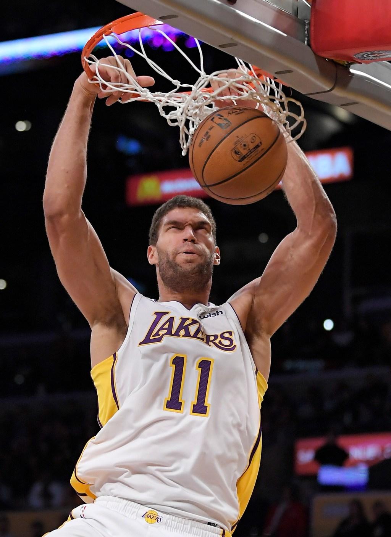 Lakers encourage veteran Brook Lopez to keep body language